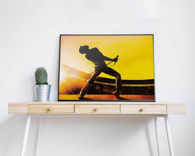 Quadro Bohemian Rhapsody Fred Mercury Queen